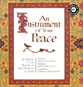 "Cover of ""An Instrument of Your Peace: Pr..."