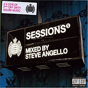 VARIOUS/SESSIONS MIXED BY STEVE ANGELLO