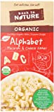 Back to Nature Organic Macaroni and Cheese Dinner, Alphabet, 6 Ounce (Pack of 12)