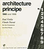 echange, troc Virilio/Parent/Wilcz - Architecture Principe Allemand