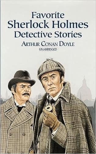 Buy Favorite Sherlock Holmes Detective Stories (Dover Children's ...