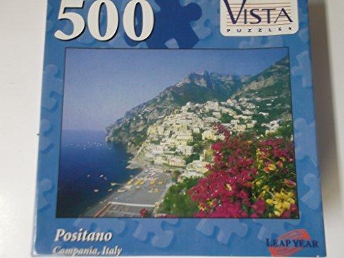 Positano Campania Italy 500 Piece Puzzle - 1