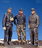 1/72 WWII 独 武装親衛隊戦車兵セット (3体セット)