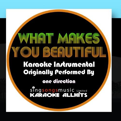 What Makes You Beautiful (Originally Performed By One Direction) {Karaoke Audio Instrumental} (Karaoke Cds One Direction compare prices)