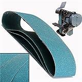 3pcs 915X100mm 120 Grit Abrasive Sanding Belts Metal Grinding Sanding Belts