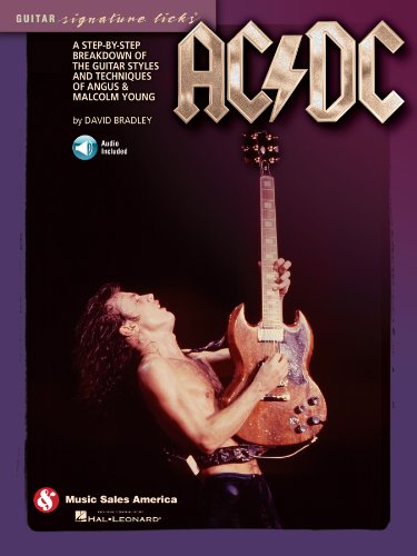 AC/DC - Guitar Signature Licks: A Step-by-Step Breakdown of the Guitar Styles and Techniques of Angus & Malcolm Young (Ac Guitar compare prices)
