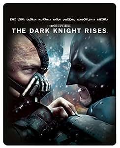 The Dark Knight Rises - Limited Edition Steelbook [Blu-ray] [2012] [Region Free]