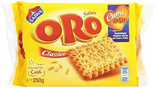 Oro - Biscotti, Classico, impacchettati Caldi - 250 g  48 pezzi