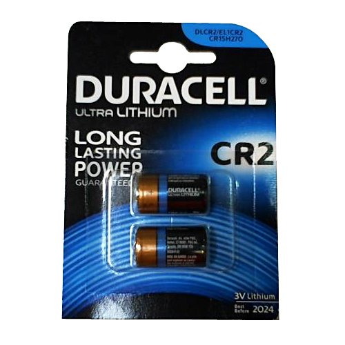 Duracell Piles Lithium High Power CR2 x2