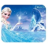 Hot Cartoon Frozen Design Cloth Cover Rectangle Mouse pad Mousepad050