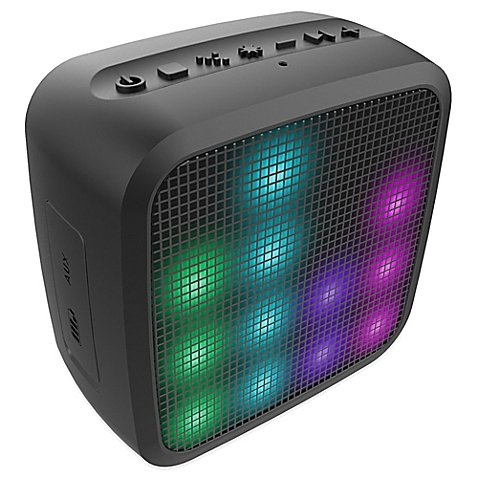 Jam® Trance Mini Wireless Bluetooth® Light Show Speaker Offers a Colorful Way to Listen to Music