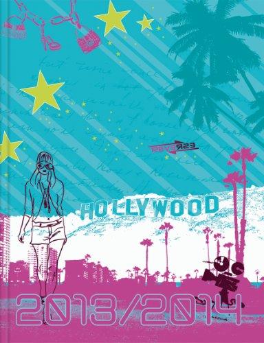 Brunnen Schülerkalender A5 - 2013/2014 Hollywood - 18 Monate Kalender 1 Woche/2 Seiten
