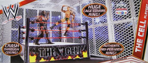 WRESTLING WWE The Cell Ring Playset (The most imposing ring structure ever created)(Age: 6 years and up) at Sears.com