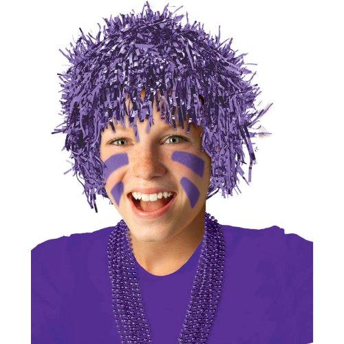 Purple Fun Wig - 1