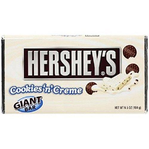 Hershey's Cookies 'n' Creme Bar, 6.5-Ounce Bars (Pack of 6) (Hershey Cookies N Cream compare prices)