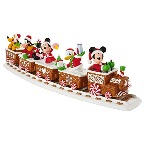 hallmark-2016-disney-express-christmas-train-full-collection