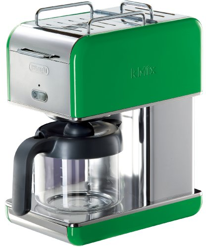 Outdoor Drip Coffee Maker : DeLonghi Kmix 10-Cup Drip Coffee Maker, Green Home Garden Kitchen Dining Kitchen Appliances ...