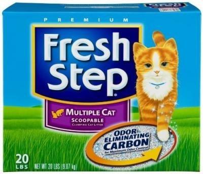 Everclean 261364 Fresh Step Multicat Scnt 20