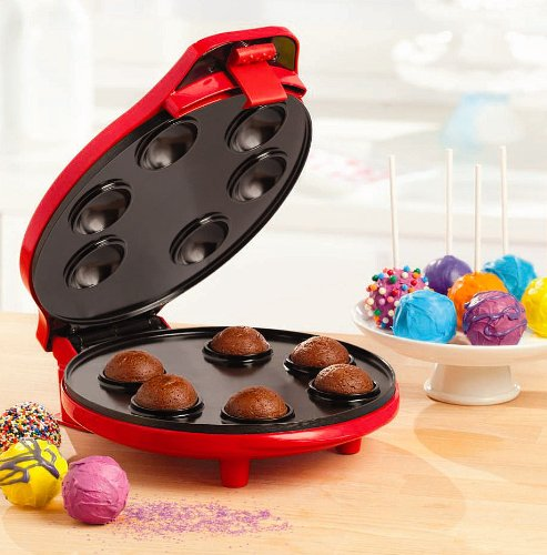 new electric automatic cake pop maker make 6 cakes cooker oven nonstick machine ebay. Black Bedroom Furniture Sets. Home Design Ideas