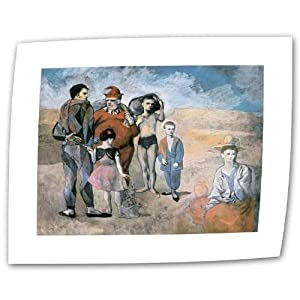 Art Wall Family of Saltimbanques 1905 by Pablo Picasso Rolled Canvas Art, 14 by 18-Inch