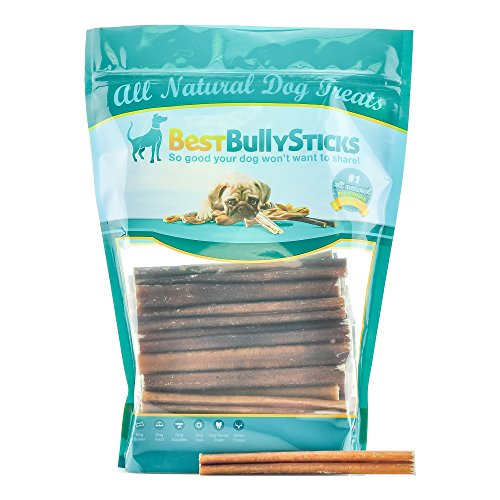 27 off 6 inch supreme bully sticks by best bully sticks 50 pack all natural dog treats. Black Bedroom Furniture Sets. Home Design Ideas