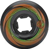 Oj Wheels Rowley 54mm 95a Black Skateboard Wheels (Set Of 4) by Oj Wheels