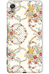 IndiaRangDe Case For Sony Xperia X (Printed Back Cover)