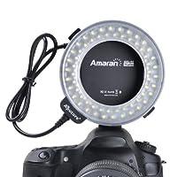 【Aputure製 LED リングライト AHL-N60 】 Nikon デジタル一眼レフカメラ対応 オートマクロストロボ