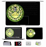 10 PCS Macbook Pro 13.3 Inch Decal Sticker Skin (Also have Pro/Air 11 13 15) - Nature Snow Kingdom Hearts Disney Company Snow White Stained Glass Nature Snow