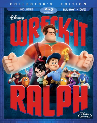 51SU7de2QQL Wreck It Ralph (Two Disc Blu ray/DVD Combo)