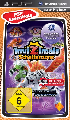 Invizimals Schattenzone [Essentials] - [Sony PSP], Sony PSP