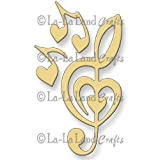 La-La Land Die Set-Heart Treble Clef
