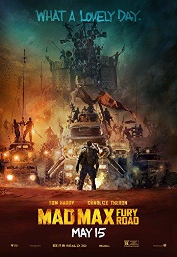 Mad Max: Fury Road Movie Poster 2015 24x36 fleetwood mac stevie nicks mick lindsey buckingham john mcvie 24x36 poster