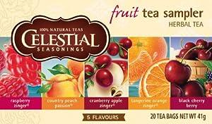 Celestial Seasonings Fruit Tea Sampler Tea, 2er Pack (2 x 37 g)