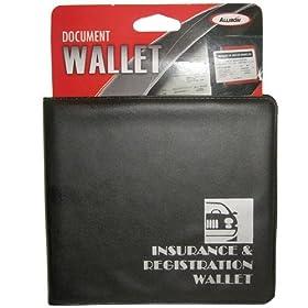 Allison 55-1369 Insurance registration Wallet