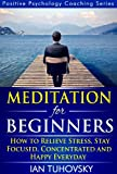 Meditation: Beginner's Guide: How to Meditate (As An Ordinary Person!) to Relieve Stress, Keep Calm and be Successful (Positive Psychology Coaching Series Book 4) (English Edition)