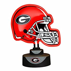 NCAA University of Georgia Neon Helmet