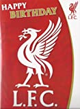 Official Liverpool Football Club Birthday Card with Recorded Song