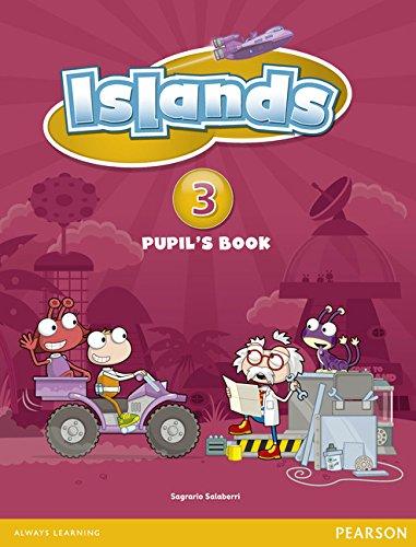 Islands Level 3 Pupil's Book plus pin code