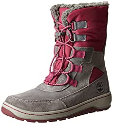 Timberland Winterfest Waterproof Insulated Boot(Toddler/Little Kid/Big Kid), Grey, 5 M US Toddler