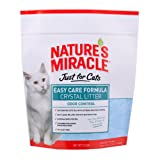 Natures Miracle Just for Cats Easy Care Crystal Litter, 8-Pound