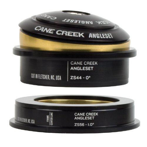 "Cane Creek Angleset 1D Tapd Zs44-Zs56/30, 1-1/8"" Zs Top/1.5"" Zs Bottom"