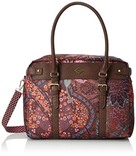 OililyOilily M Carry All - Borsa con Maniglia Donna , Marrone (Braun (COFFEE 843)), 34x14x27 cm (B x H x T)