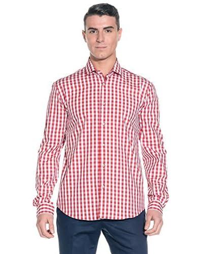 Poggianti Camicia Uomo [Blu/Bianco]