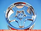Mercedes-Benz G55 AMG: Set of 4 genuine factory 18inch chrome wheels