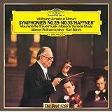 モーツァルト:交響曲第29番、第35番「ハフナー」、フリーメイソンのための葬送音楽