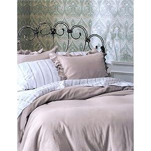 Simply Shabby Chic® Oatmeal Linen Duvet Set