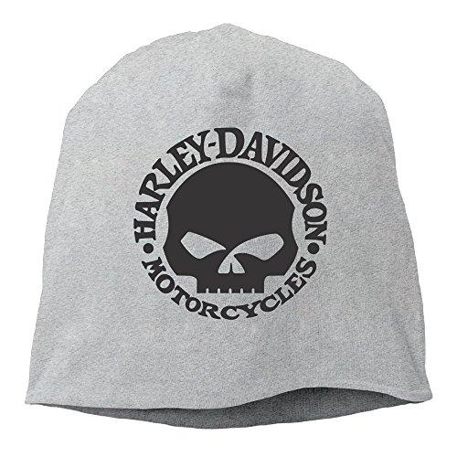 Harley Skull Beanie Hat Skull Cap Ash (Harley Davidson Supplies compare prices)