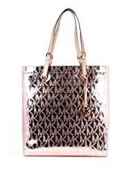 Michael Kors Jet Set Item NS Tote Rose Gold 35T1MTTT3Z