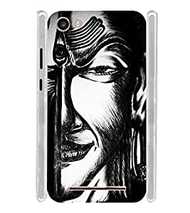 Vintage Art Soft Silicon Rubberized Back Case Cover for Micromax Spark 2 Plus Q350